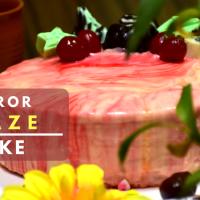 Mirror Glaze Cake | GLAZE cake | Gel Cake | Flavors by Parween Khan
