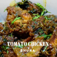 Tomato Chicken Bhuna | Bhuna Chicken | टमाटर चिकन भूना | Non Veg Recipe by Flavors