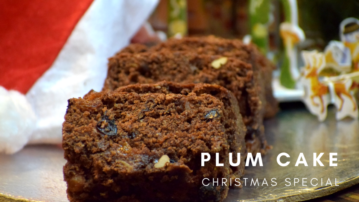 Plum Cake |Rich Fruit Cake |Christmas Cake| Christmas Special by Flavors