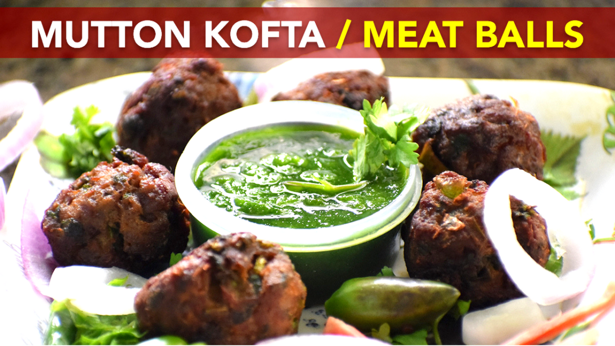 Mutton Kofta | Meat Balls | Mutton Tikia | Mom's Recipe by Flavors