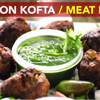 Mutton Kofta | Meat Balls | Mutton Tikia | Mom's Recipe by Flavors